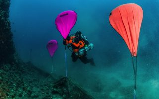 divers-dredge-up-two-tons-of-disused-nets-from-greek-seabed