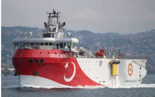 turkey-amp-8217-s-oruc-reis-survey-vessel-back-near-southern-shore-ship-tracker-shows