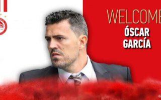 olympiakos-confirms-hiring-of-spanish-coach-oscar-garcia