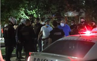 fines-issued-for-big-gatherings-in-athens-squares