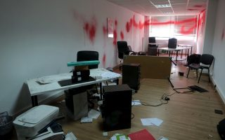 anarchist-group-vandalizes-oxfam-offices-in-athens
