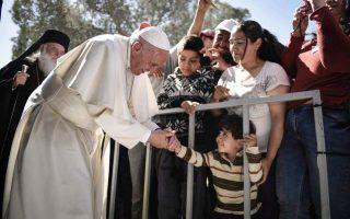 papal-delegation-visits-refugee-camps-on-lesvos-samos