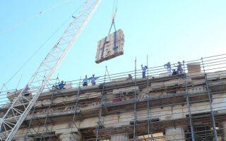 restoration-work-gets-under-way-on-parthenon-pediment