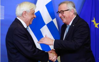 juncker-welcomes-pavlopoulos-to-seat-of-ec