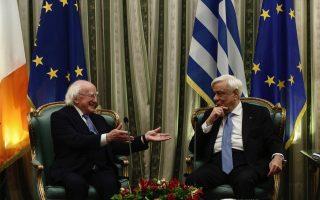 irish-president-in-athens-for-talks-on-eu-prospects