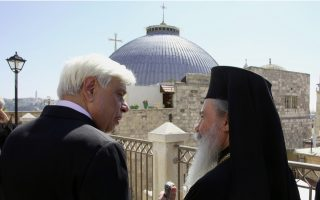 greek-president-visits-greek-orthodox-patriarchate-in-jerusalem
