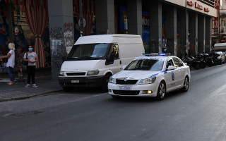 two-police-officers-injured-one-critically-in-athens