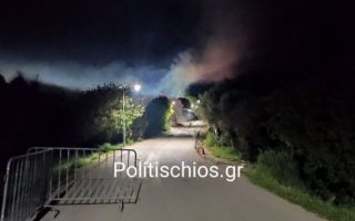 ten-arrested-in-chios-migrant-camp-violence