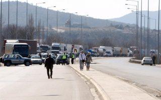 bulgarian-truckers-smash-through-farmers-blockade