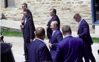 putin-visits-orthodox-monastic-community-at-mount-athos