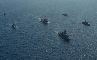 turkish-defense-ministry-releases-images-of-oruc-reis-escorted-by-naval-units