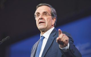 ex-pm-samaras-tells-kathimerini-deterrence-is-key-to-dealing-with-turkey