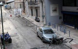 police-receives-claim-over-athens-bomb-blast