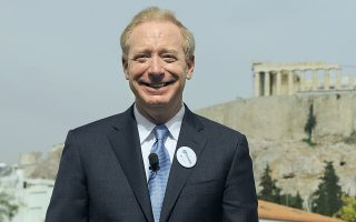 microsoft-president-outlines-greece-s-potential-in-kathimerini-interview