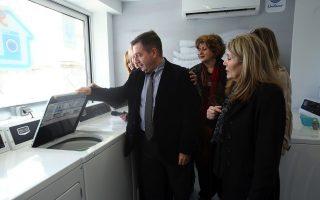 athens-mayor-inaugurates-social-laundry
