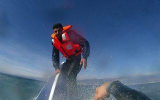 turkey-coastguard-saves-lone-syrian-refugee-on-sinking-boat