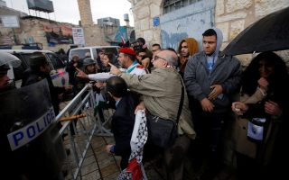 palestinians-attack-car-of-greek-patriarch-in-protest-against-land-deals