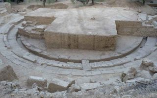 archaeologists-unearth-ancient-theater-of-thouria-in-messinia