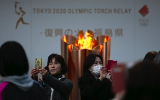tokyo-olympic-flame-taken-off-display-next-stop-unclear0