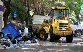 garbage-cleanup-begins-as-workers-halt-strike-action