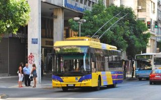 athens-trolley-bus-drivers-join-general-strike-on-november-28