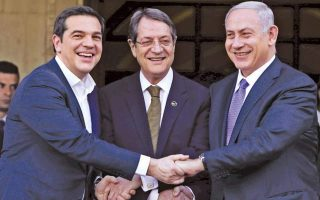 netanyahu-says-he-will-discuss-pipeline-to-italy-with-tsipras-anastasiades