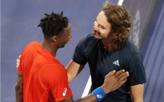 tsitsipas-calls-for-amp-8216-a-little-more-respect-amp-8217-after-rowdy-first-round