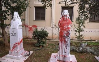 two-arrested-for-vandalizing-church-in-thessaloniki