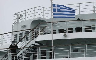 negative-passengers-on-quarantined-ferry-being-brought-to-land