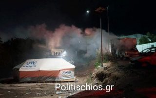 three-refugees-arrested-after-violence-at-chios-hotspot