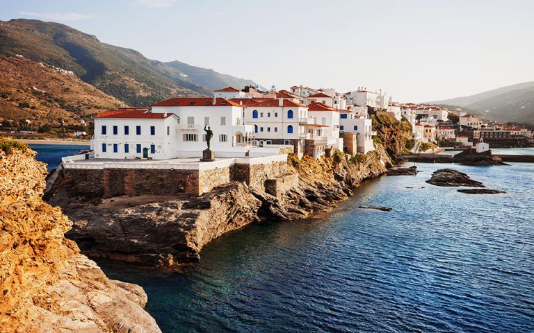 Andros is the best Greek island for hiking, according to The Telegraph. [Shutterstock]