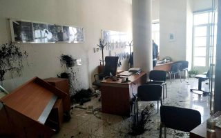 office-of-greek-sports-minister-targeted-by-vandals