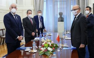 dendias-meets-with-foreign-dignitaries-ahead-of-forum