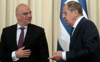 dendias-discusses-bilateral-relations-eastern-mediterranean-with-lavrov0
