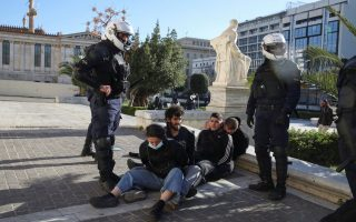 twenty-four-protesters-arrested-after-clashes-with-police-at-education-bill-rally