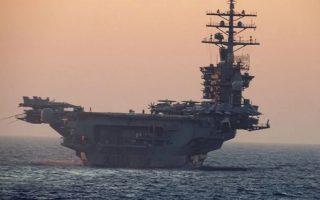 us-aircraft-carrier-eisenhower-docks-in-crete
