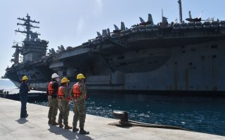 pm-visiting-us-aircraft-carrier-eisenhower-in-crete-on-tuesday
