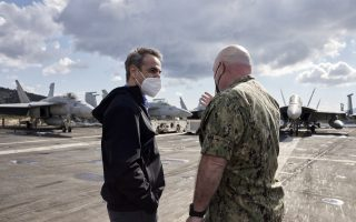 pm-welcomed-aboard-us-aircraft-carrier-eisenhower-in-crete