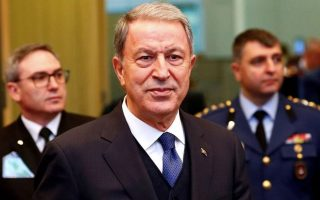 turkish-defense-minister-says-greece-continues-amp-8216-provocative-actions