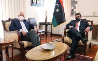 dendias-meets-head-of-libya-s-presidency-council