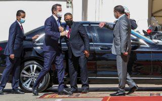 mitsotakis-is-welcomed-in-libya