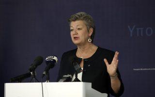turkey-must-resume-returns-eu-commissioner-johansson-tells-kathimerini