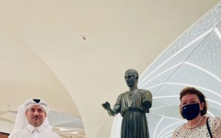 charioteer-of-delphi-replica-statue-unveiled-in-qatar