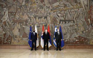 dendias-in-belgrade-for-talks-with-serb-cypriot-counterparts