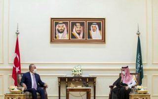 turkish-fm-in-saudi-arabia-to-mend-ties-amid-regional-shifts