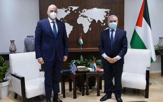 dendias-meets-palestinian-premier