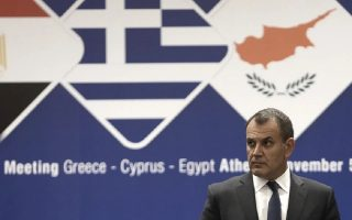 greece-cyprus-and-egypt-defense-ministers-meet-in-nicosia