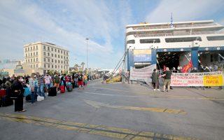 striking-seamen-in-greece-temporarily-disrupt-ferry-services