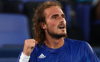 stefanos-tsitsipas-wins-opener-in-olympic-debut