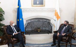 fm-dendias-meets-with-cyprus-president-anastasiades